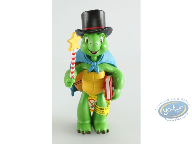 Plastic Figurine, Franklin : Franklin magicien