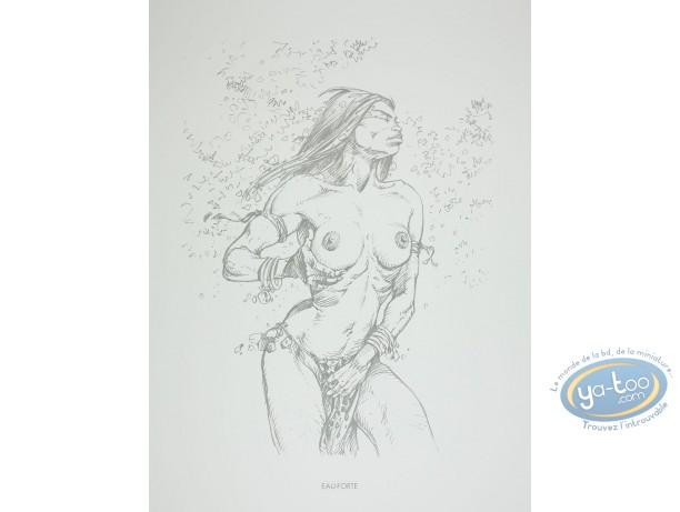 Offset Print, Amazones : Eau-Forte