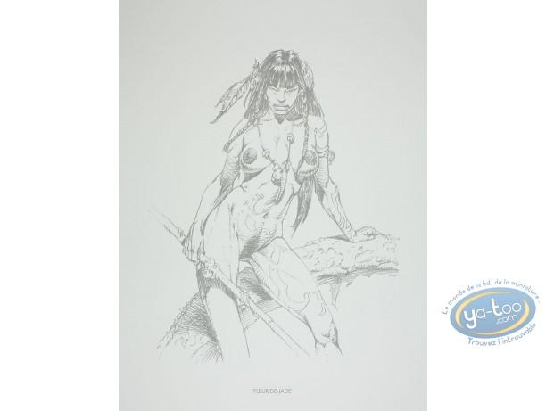 Offset Print, Amazones : Fleur-de-Jade