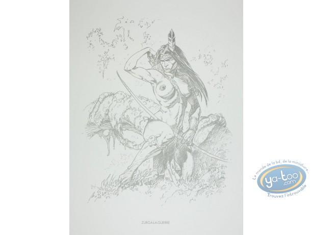 Offset Print, Amazones : Zurga-la-Guerre