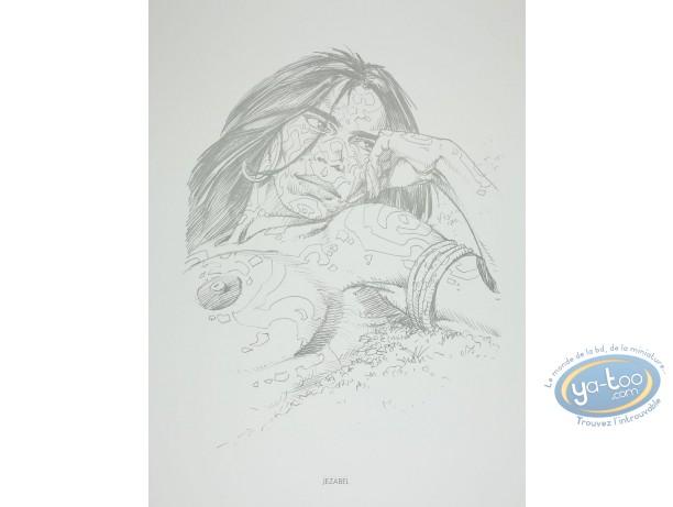 Offset Print, Amazones : Jezabel