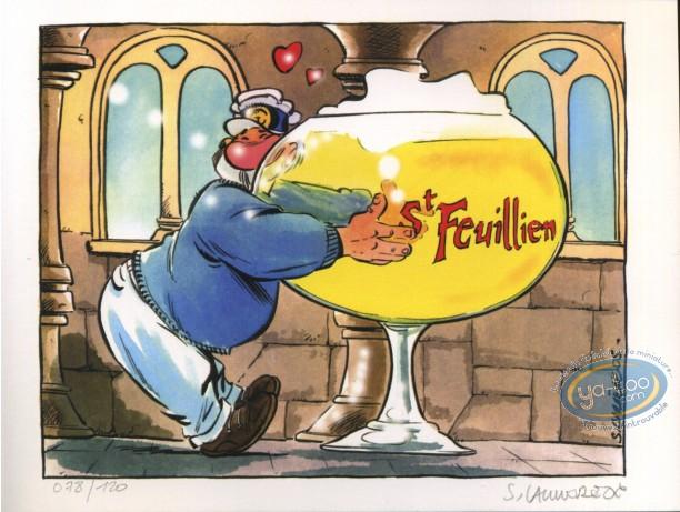 Bookplate Offset, Léo Loden : Tonton & beer