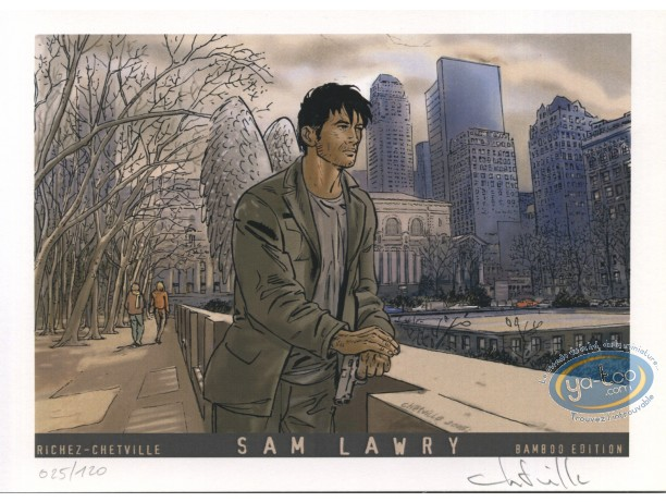 Bookplate Offset, Sam Lawry : Lawry Angel