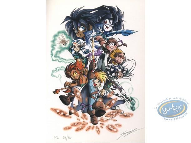 Bookplate Offset, Légendaires (Les) : Characters