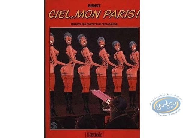 Used European Comic Books, Ciel, mon Paris!