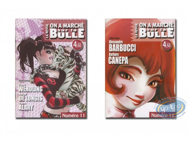 Monography, On a Marché sur la Bulle : Barbucci, Canepa, Wendling, De Longis, Alary