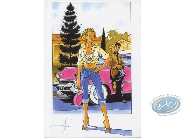 Bookplate Offset, Tequila Deperados : Pink Cadillac