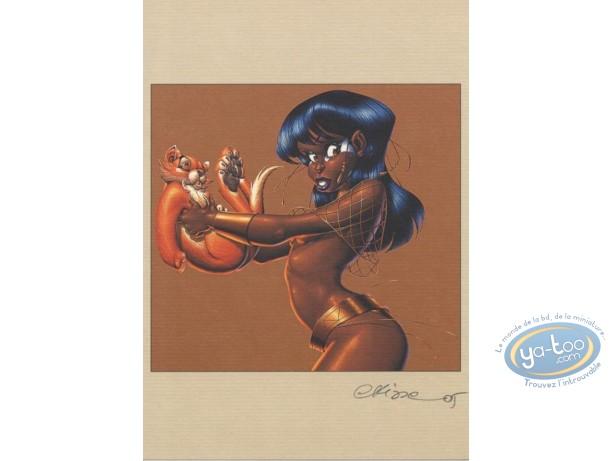 Bookplate Offset, Ishanti : Ishanti