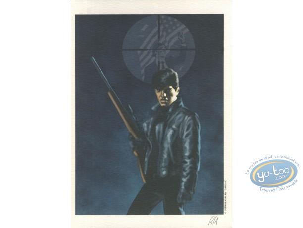 Bookplate Offset, XIII Mystery : Steve Rowland