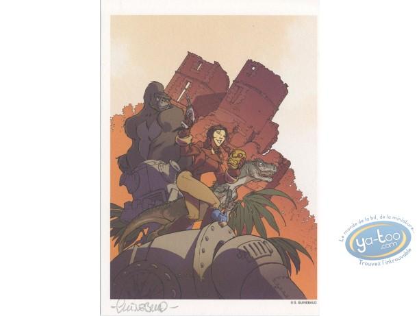 Bookplate Offset, Porte des Mondes (La) : Selina