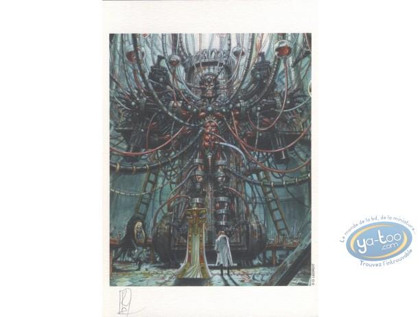 Bookplate Offset, Requiem : The Machina