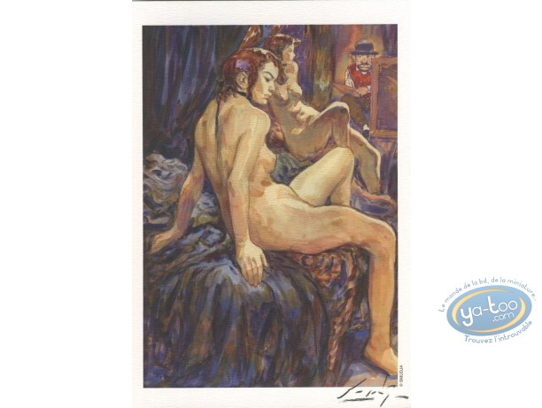Bookplate Offset, Bordel des Muses (Le) : Model