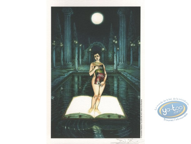 Bookplate Offset, Bois des Vierges (Le) : Aube on a book
