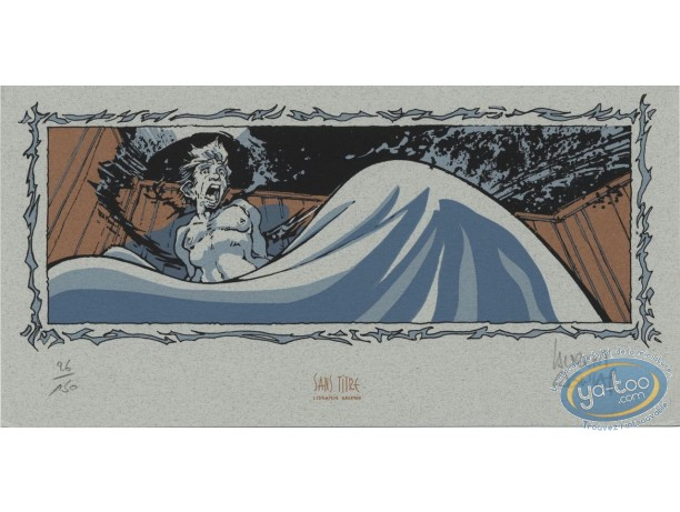 Bookplate Serigraph, Vauriens : Awake