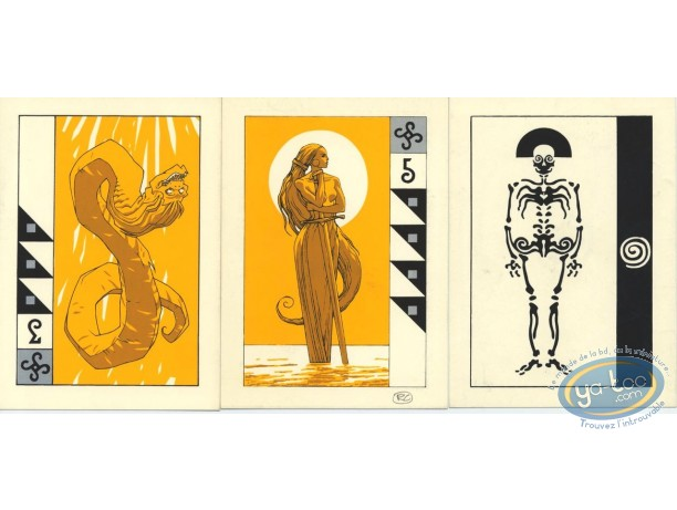 Bookplate Serigraph, Arcanes : Cards