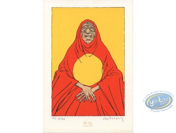 Bookplate Serigraph, Foudre : Solar