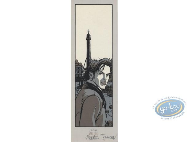 Bookplate Serigraph, Voleurs d'Empires (Les) : Colonne Vendome