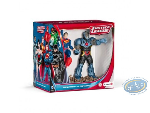 PVC Statuette, Superman : Scenery pack Superman Vs Darseid