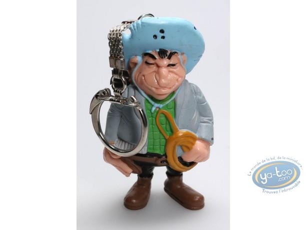 Plastic Figurine, Lucky Luke : Keyring Hank
