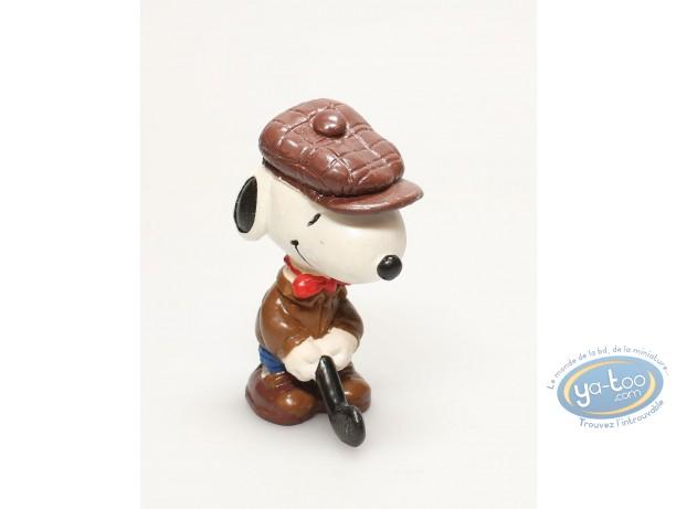 Plastic Figurine, Snoopy : Snoopy golfer
