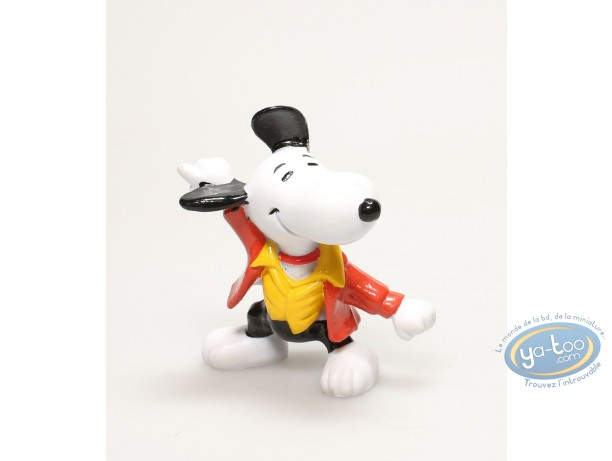 Plastic Figurine, Snoopy : Snoopy disco dancer