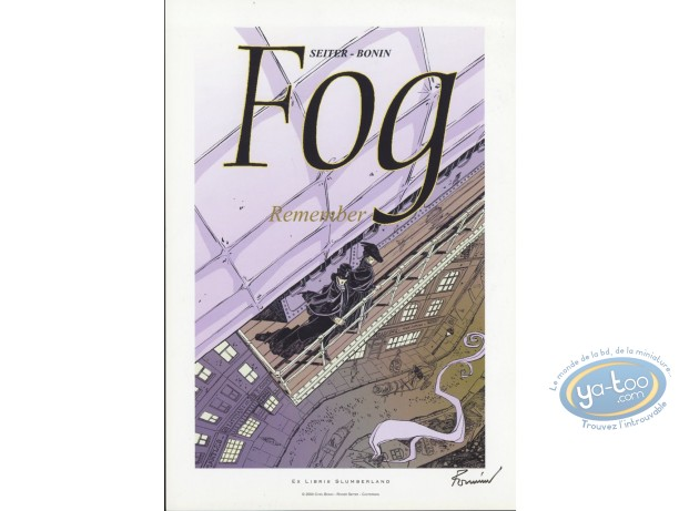 Bookplate Offset, Fog : Remember
