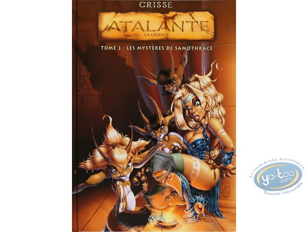 Listed European Comic Books, Atalante : Les Mysteres de Samothrace (+ bookplate)