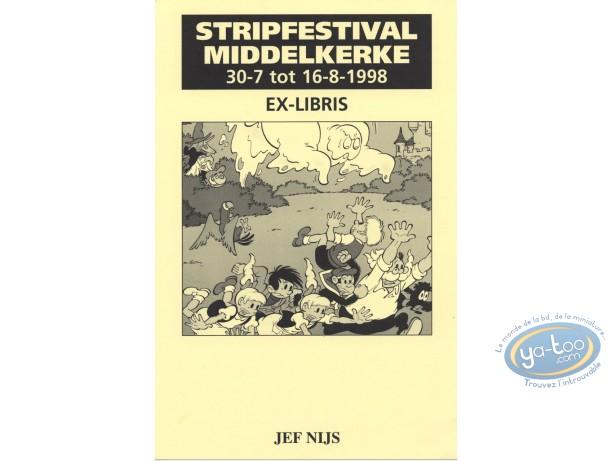 Bookplate Offset, Gil et Jo : Jef Nijs, Gil & Jo et le fantôme