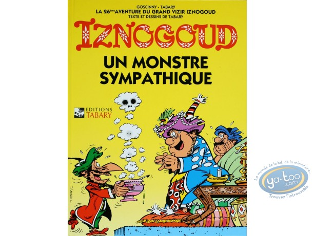Reduced price European comic books, Iznogoud : A nice monster - The adventures of the grand vizier Iznogoud  Volume 26