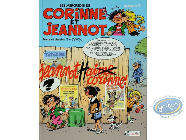 Reduced price European comic books, Corinne et Jeannot : Jeannot hat...love Corinne - Wednesdays of Corinne and Jeannot Tome 7