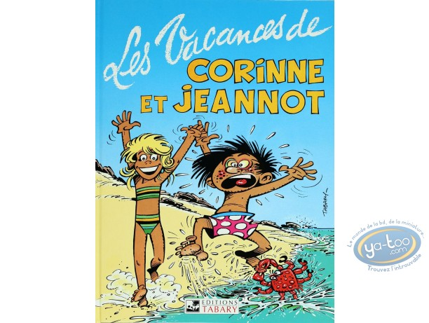 Reduced price European comic books, Corinne et Jeannot : The holidays of Corinne and Jeannot