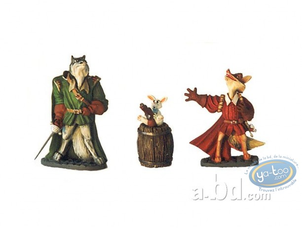 Resin Statuette, Cape et de Crocs (De) : The first roles