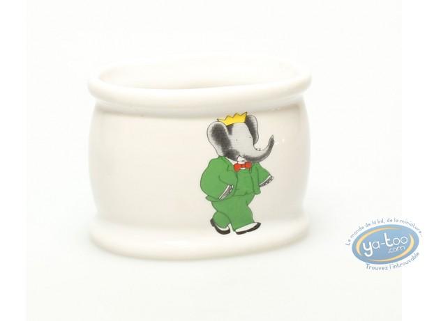 Tableware, Babar : Napkin ring, de Brunhoff, Babar