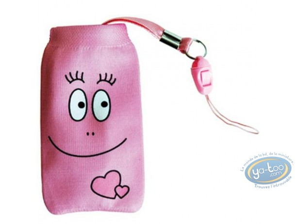 Mobile Accessory, Barbapapa : GSM pocket cover Barbapapa