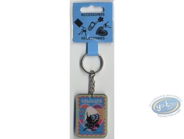 Metal Keyring, Calimero : Metal keyring : Calimero