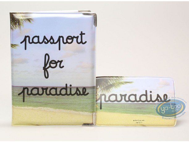 Luggage, Passport protection + luggage label holder : Passport for paradise