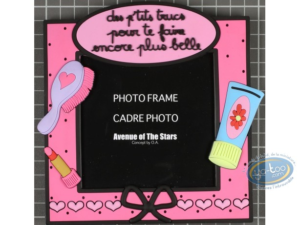 Photo Frame, Déco et des Mots : PVC photo frame : Encore plus belle