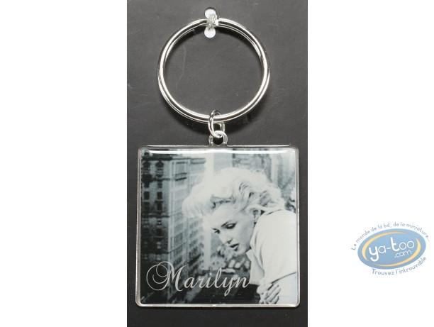 Metal Keyring, Marilyn Monroe : Metal Keyring, Marilyn