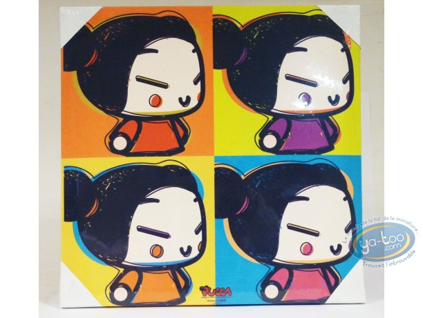 Deco, Pucca : Under canvas, Pucca 40 X 40