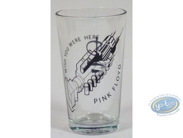 Tableware, Pink Floyd : Glass of box, Pink Floyd Wish You Were Here