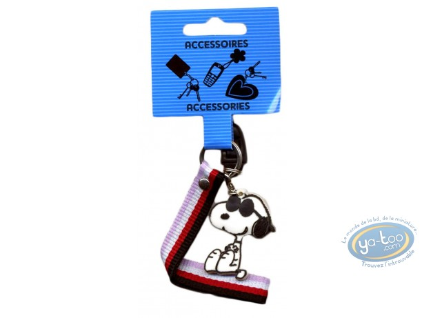 Mobile Accessory, Snoopy : Cellphone PVC hanger, Snoopy