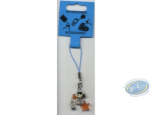 Mobile Accessory, Snoopy : Cellphone metal hanger, Snoopy