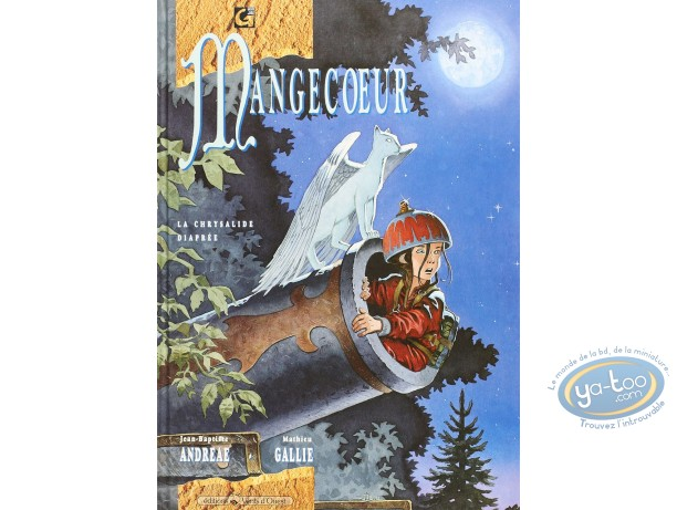 Listed European Comic Books, Mangecoeur : La chrysalide diapree