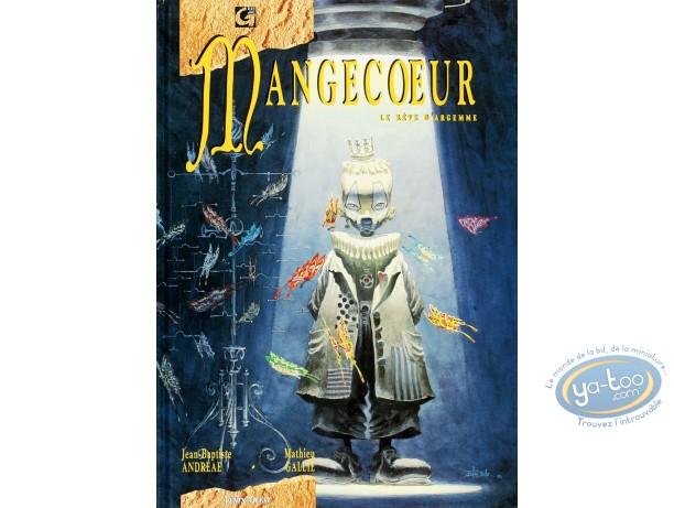 Listed European Comic Books, Mangecoeur : Le Reve d'Argemme (+ bookplate)