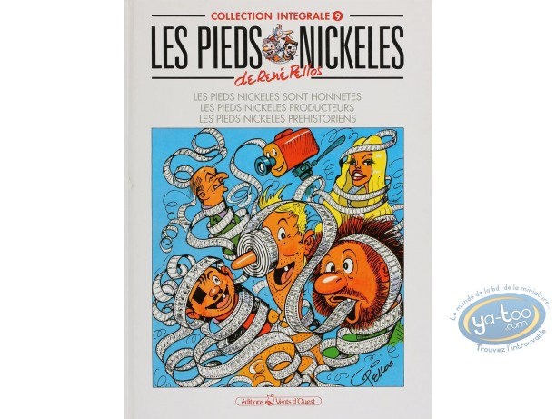 Listed European Comic Books, Pieds Nickelés (Les) : Les Pieds Nickelés, collection intégrale