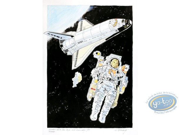 Aquarelle, Dan Cooper : In Space