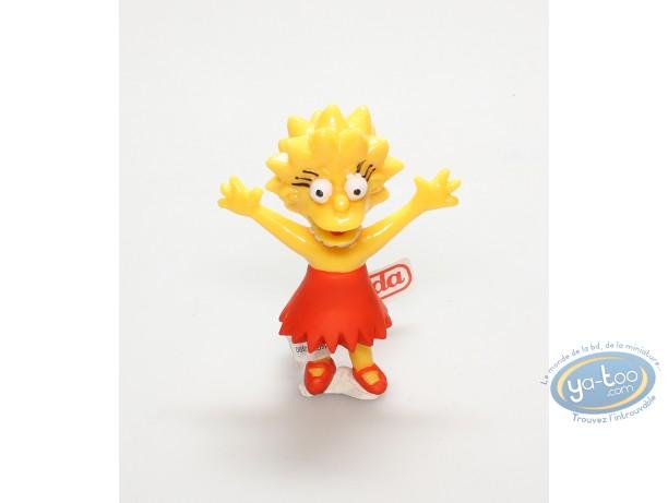 Plastic Figurine, Simpson (Les) : Lisa Simpson