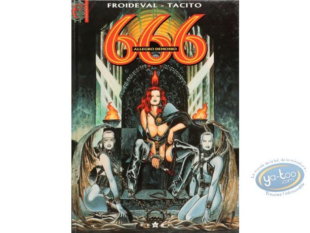 Listed European Comic Books, 666 : Allegro Demonio (good condition)