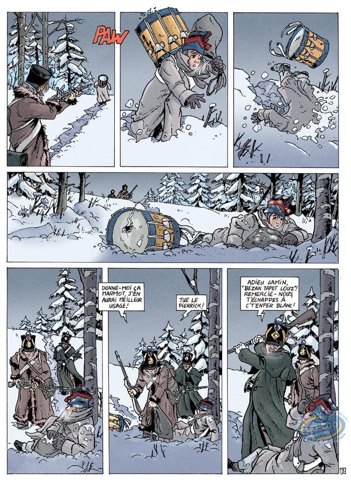 European Comic Books, Gloire des Aigles (La) : V1 - Destination Brésil