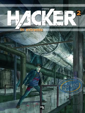 European Comic Books, Hacker : V1 - Destination Brésil